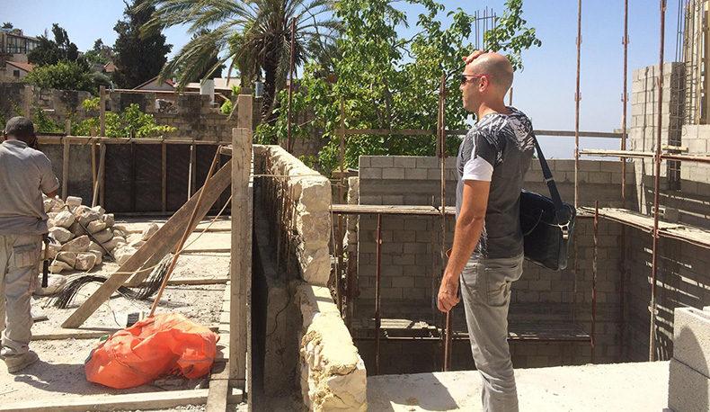 שיפוץ בית בן 250 שנה בצפת