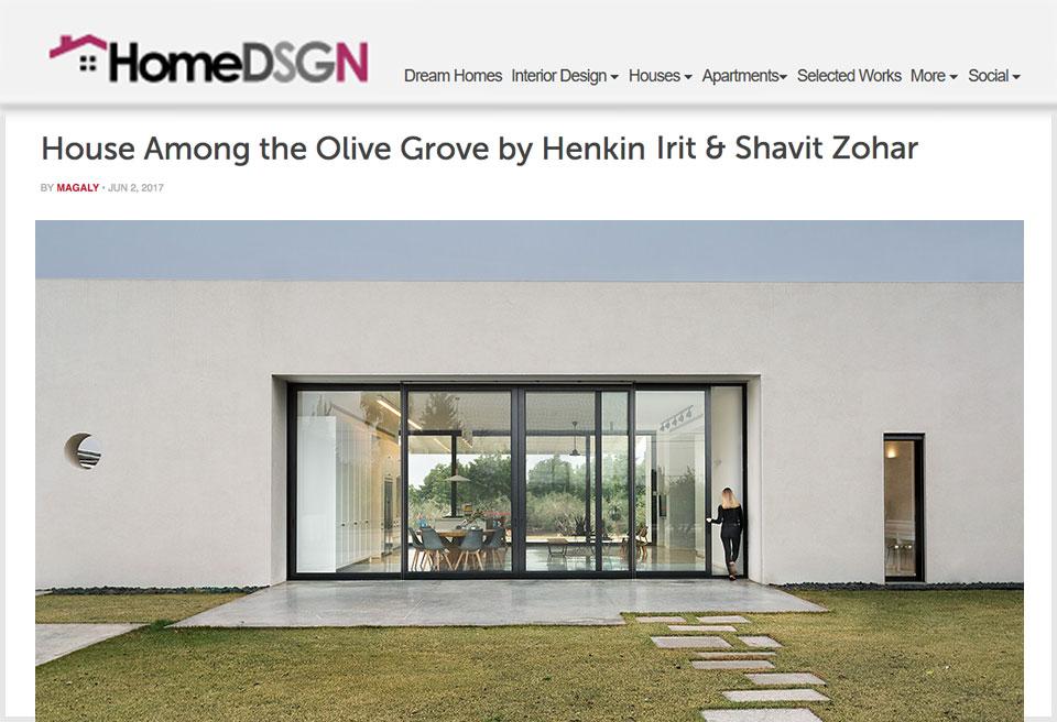 Web Publications | Henkin Shavit - Design and Architecture